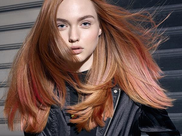 Cartella colori capelli glamour